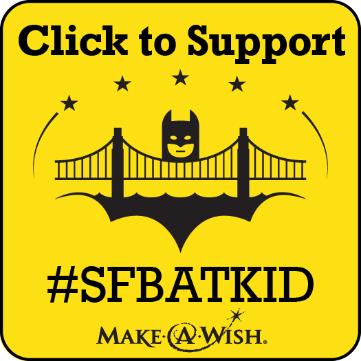 SF Batkid Badge